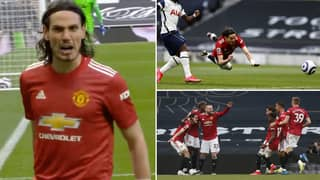 Manchester United Come From Behind To Beat Spurs 3-1
