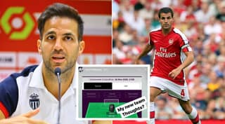 ​Cesc Fabregas Has Revealed His Premier League Fantasy Football Team