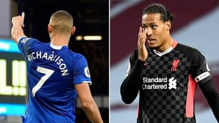 Everton's Richarlison Brutally Trolls Liverpool After 7-2 Humiliation Against Aston Villa