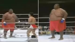 When A 600lbs Sumo Wrestler Fought A 169lbs MMA Fighter