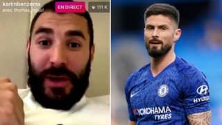 Karim Benzema Brutally Savages Olivier Giroud In Instagram Live Rant