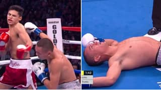 Ryan Garcia Produces Early KO Of The Year Contender With Brutal One-Punch Knockout