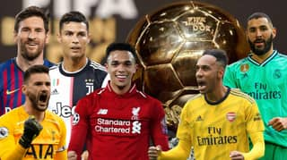 The 30-Man Ballon d'Or Shortlist Released By France Football