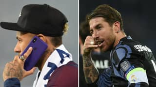 Neymar Phoned Sergio Ramos And Tried To Lure Him To Paris Saint-Germain
