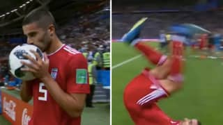 Two Years Ago, Iran's Milad Mohammadi Attempted 'That' Throw-In At The World Cup
