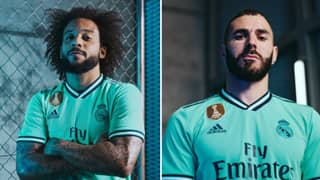Real Madrid Release Beautiful New Mint Green Third Kit