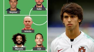 Joao Felix Has Named David De Gea And Virgil Van Dijk In His All-Time XI