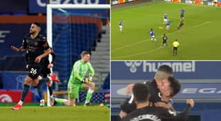 Riyad Mahrez Channels His Inner Arjen Robben And Cuts Inside To Score Sensational Goal