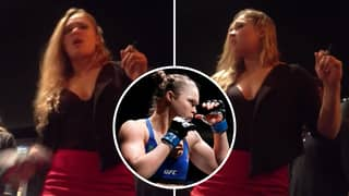 UFC Legend Ronda Rousey's Brutal Put-Down For Fan Yelling A Sex Question At Her