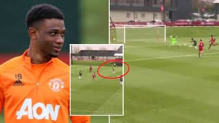 It Took Amad Diallo Just 13 Minutes To Score His First Goal For Manchester United In U23 Game vs Liverpool