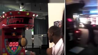 The Scores That Conor McGregor And Jon Jones Received On A Punching Machine