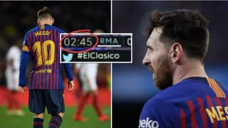 The Genius Reason Lionel Messi Ignores The Ball In The 'First Minutes' Of A Game