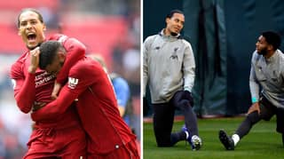 Only One Player Has Scored Against The Van Dijk/Joe Gomez Partnership In 1,246 Minutes