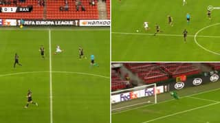 Kemar Roofe Scores Incredible Goal From The Half-Way Line