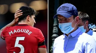 Harry Maguire Receives Suspended Jail Sentence For Aggravated Assault And Attempted Bribery