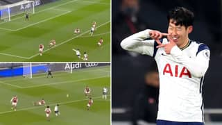 Son Heung-Min Scores Goal Of The Season Contender For Tottenham Vs Arsenal