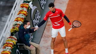 Novak Djokovic Hit A Line Judge In The Face With A Tennis Ball... Again