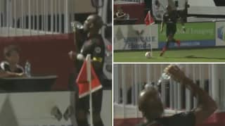 When Didier Drogba Drank From Kid's 'Magic' Water Bottle, Got An Assist, Then Celebrated With Kid