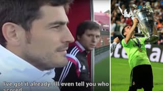 Iker Casillas Can Remember Every Game He Played In