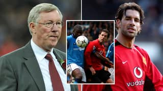 Sir Alex Ferguson Was Furious With Ruud Van Nistelrooy For Swapping Shirts With A Manchester City Player