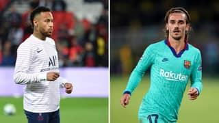 Barcelona Considering Using Antoine Griezmann For Neymar Swap Deal