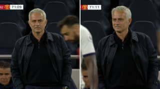 Jose Mourinho Enjoys Cheeky Exchange With Bruno Fernandes