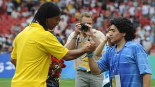 Ronaldinho 'Wants To Come Out Of Retirement And Play For Diego Maradona'
