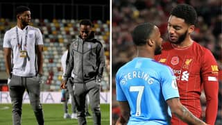 Raheem Sterling Dropped By England After Training Bust-Up With Joe Gomez