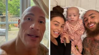 Dwayne 'The Rock' Johnson Sends Heart-Warming Message To Ashley Cain's Baby Daughter