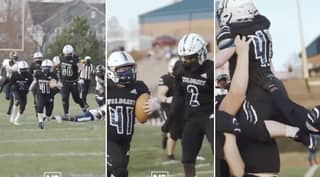 Student With Down's Syndrome Given Heartwarming Night Of His Life By US Football Teams