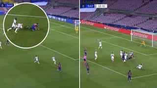 Lionel Messi Scores Incredible Solo Goal Against Napoli