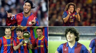 The Top 20 Barcelona Players Of All-Time Ranked By Fans