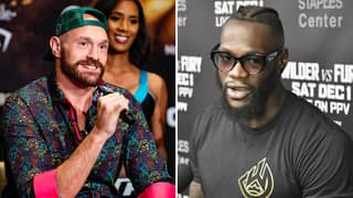 Tyson Fury Sends His Most Hilarious Warning To Deontay Wilder Ahead Of Upcoming Rematch