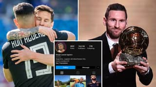 Fans Convinced Lionel Messi Deal Is Happening After Sergio Aguero Removes '10' From Instagram Handle