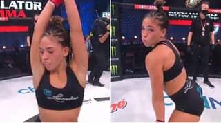 MMA Fans Slam Valerie Loureda's 'Cringey' Dance At Bellator 243