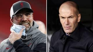 Zinedine Zidane Hits Back At Jurgen Klopp Over Stadium Comments After Real Madrid Win