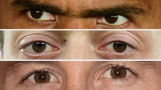 QUIZ: Can You Name The Footballers From Pictures Of Their Eyes?