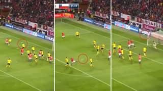 Watch: Arturo Vidal Scored An Utterly Outrageous Half Volley Against Sweden