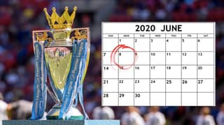 Potential Premier League Return Date And Timetable To Finish Season Revealed