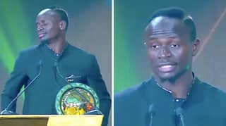 Sadio Mane Gave The Most Genuine And Humble Speech At The African POTY Awards
