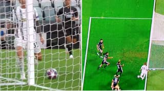 Federico Bernardeschi Somehow Missed An Open Goal Against Lyon In The Champions League