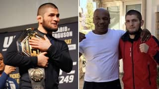 Khabib Nurmagomedov Said Mike Tyson Being A Fan Of His Was A 'Dream Come True'