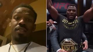 Jon Jones Reacts To Francis Ngannou Beating Stipe Miocic At UFC 260