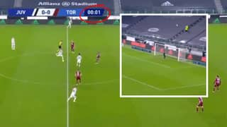 Cristiano Ronaldo Genuinely Tried To Score Straight From Kick-Off Vs Torino