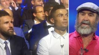 When Eric Cantona Left Cristiano Ronaldo And Lionel Messi Baffled With Bizarre Speech