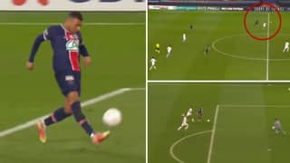 Kylian Mbappe Displays Blistering Pace in 90th Minute To Score Outrageous Solo Goal For Paris Saint-Germain