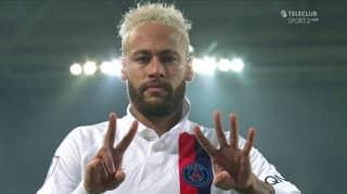 Neymar Dedicates Goal To Kobe Bryant After Throwing Up '24'