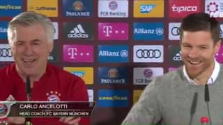 WATCH: Xabi Alonso Uses Retirement Speech To Troll Carlo Ancelotti