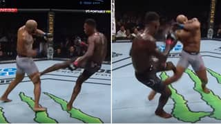 Yoel Romero's Leg Was An Absolute Mess After UFC 248 Fight With Israel Adesanya