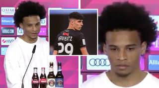 Leroy Sane Accidentally Confirms Kai Havertz's Transfer To Chelsea